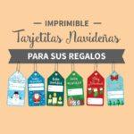 Imprimible – Tarjetitas navideñas para sus regalos